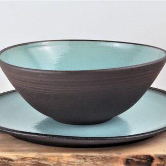 Dark stone ware